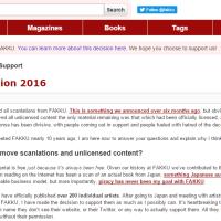 [Editorial/es] Sobre el retiro del servicio FAKKU de scanlations.